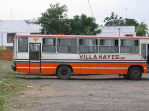 bus in Villa Hayes