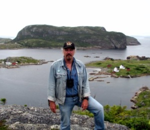 Glenn Stout (in Newfoundland)