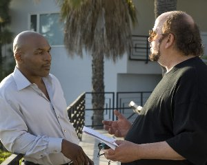 Mike Tyson (left) and James Toback
