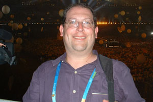 Eric Mirlis at the 2004 Summer Olympics in Athens