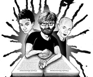 Klosterman, Cusack, and Britney. Graphic by Mister Lister