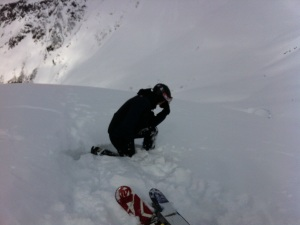Wickersham, Tebowing on the slopes