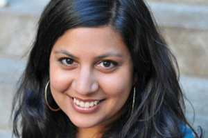 Samhita Mukhopadhyay. Photo by Danny Avila.
